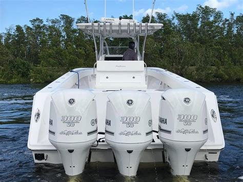 seahunter boat test seahunter boats test and tune day for this seahunter39
