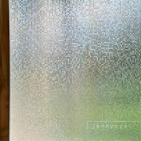 bathroom privacy film bathroom free shipping decorative clear etched frosted no