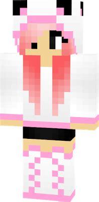 Black Panda Pink Mc panda skin