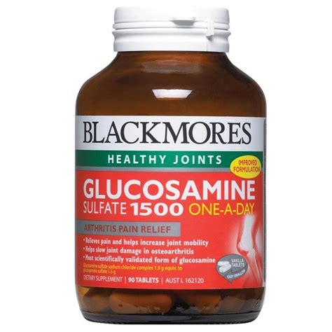 Blackmores Glucosamine 1500 One A Day 180 Tablet blackmores glucosamine sulfate 1500mg one a day 90 tablets