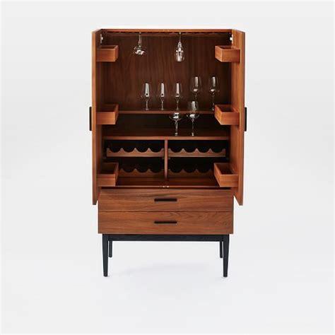west elm graphic bar cabinet reede bar cabinet tall west elm
