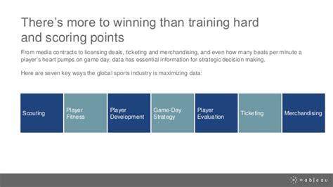 Sports Analytics Mba by 7 Ways Sports Teams Win With Sports Analytics