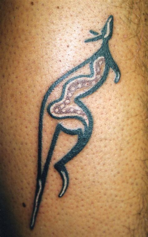 kangaroo tattoo images designs