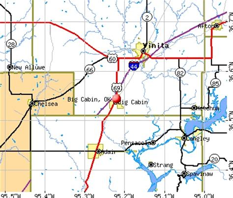 Big Cabin Ok Zip Code by Big Cabin Ok Map Images Places I Ve Lived