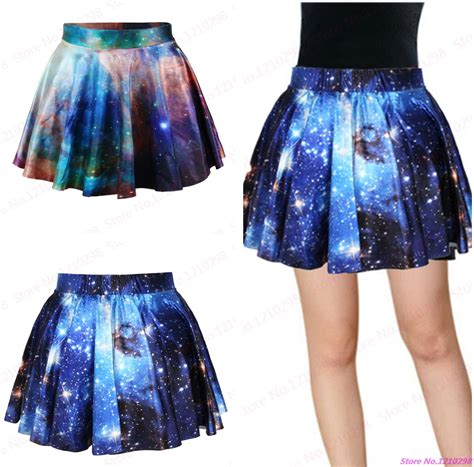 new running skirts pettiskirt starry pleated mini