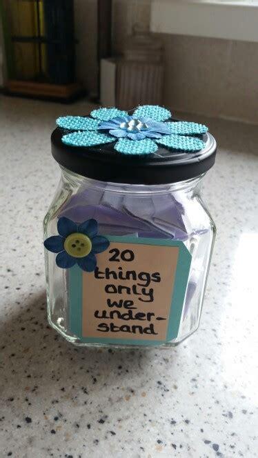 diy thoughtful gifts diy jar gift for best friend partner