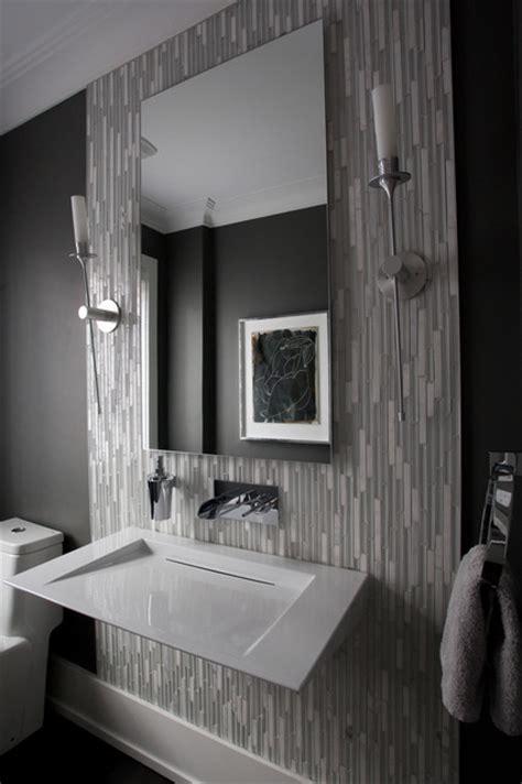 Kitchen Backsplash Tiles Toronto by Powder Room