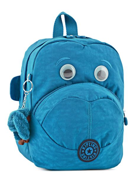 sacs kipling sac dos kipling back to school blue green mix en vente au meilleur prix