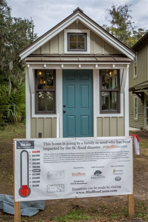 Small Homes South Carolina Building Tiny Homes For Flood Victims In South Carolina