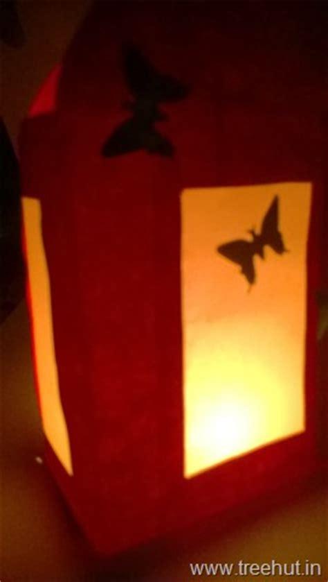 Diwali Paper Lantern Craft - diwali paper lantern template treehut in