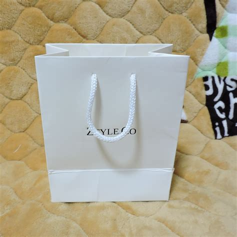 Paper Bag Custom 19x27x9cm custom printed gift paper bag jewelry bags packaging bag shipping bag in gift bags wrapping