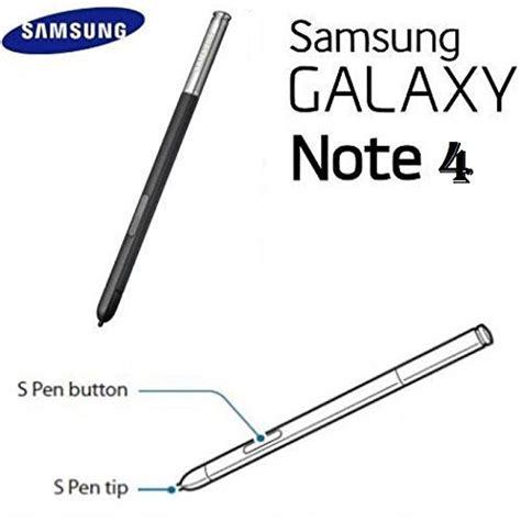 Stylus Original Copotan Note 4 original samsung galaxy note 4 black touch stylus s pen import it all
