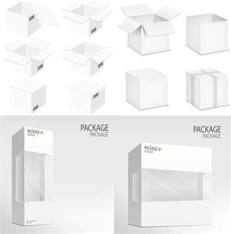 graphic design packaging templates boxes design material white packaging graphics