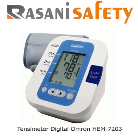 Tensimeter Digital Malang tensimeter digital omron hem 7203 rasani safety