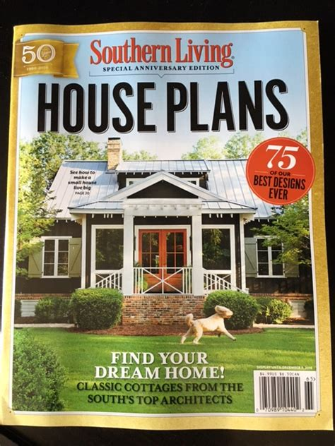 house plan magazines southern living house plan 593 house plans