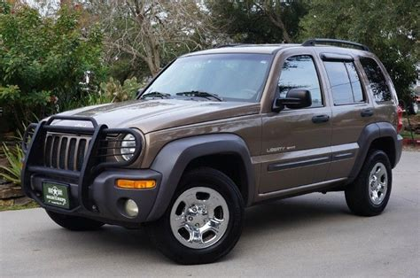 brown jeep liberty 2002 quot woodland brown quot jeep liberty sport 4x4 v6 with 154k