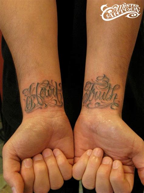 the truth tattoo 82 awesome letter wrist tattoos design
