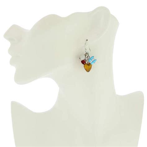 Donatellas Heartbreak by Murano Earrings Donatella Murano Glass Earrings