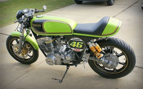 Yamaha Motorrad 750 by Xs750 Cafe Racer Motorrad Bild Idee