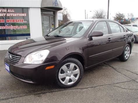 2008 Kia Magentis Lx 2008 Kia Magentis Lx Brantford Ontario Used Car For