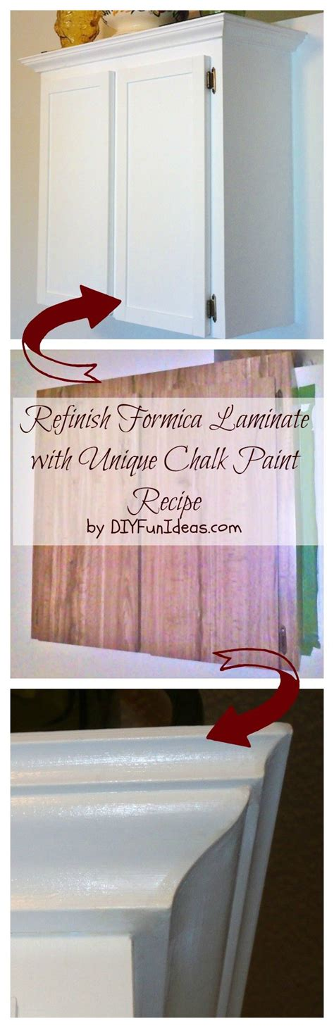Refinishing Old Kitchen Cabinets by How To Refinish Formica Cabinets Unique Chalk Paint