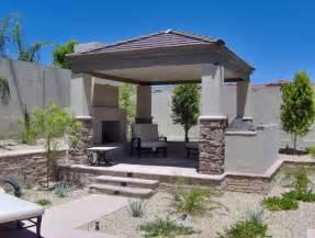 The Backyard Garden Queen Creek Landscape Design Poco Verde Landscape Ramada S