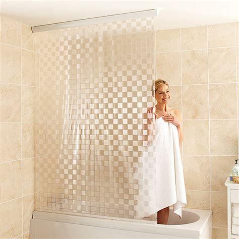 tende per doccia in lino tenda vasca da bagno