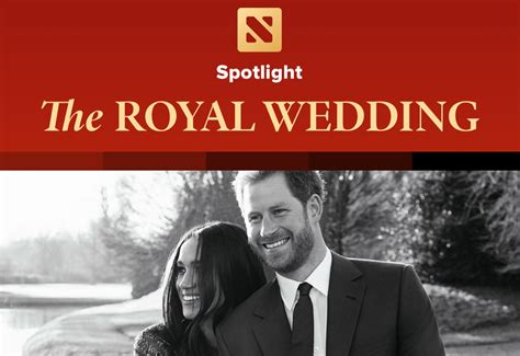 Wedding Section by Apple News App Features Special Royal Wedding Section