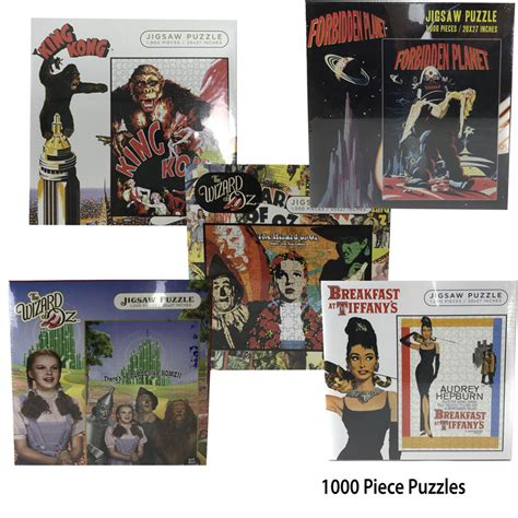 film jigsaw puzzles 1000 piece classic movie jigsaw puzzles many available