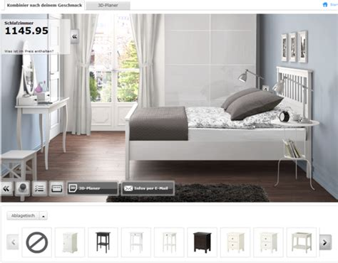 schlafzimmer 3d planen ikea schlafzimmerplaner haben sie schon probiert
