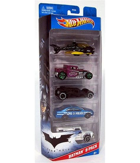 wheels batman 5 car batmobile and villains gift pack 1 64 scale collectible set of die cast