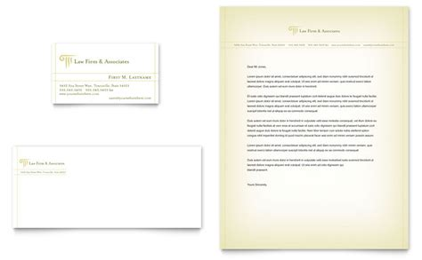 Attorney Business Card Template Word by Attorney Services Business Card Letterhead