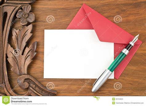 Pen Paper Royal Envelope blank paper pen and envelope stock images image 33704624