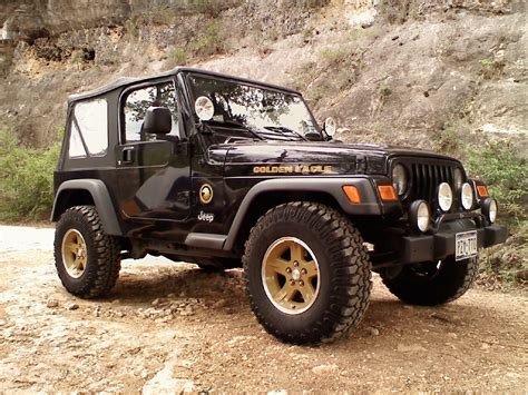 Jeep Eagle Exclusive Jeep Wrangler Golden Eagle 75th Anniversary