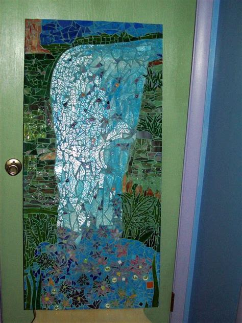 waterfall glass tile 109 best images about whimsical bathroom on pinterest