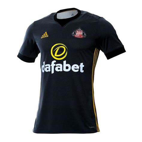Limited Edition Jersey City Home 2017 2018 Grade Ori Official limited edition sunderland 17 18 third kit released footy headlines