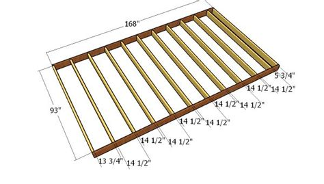 8x14 gambrel shed free diy plans howtospecialist how