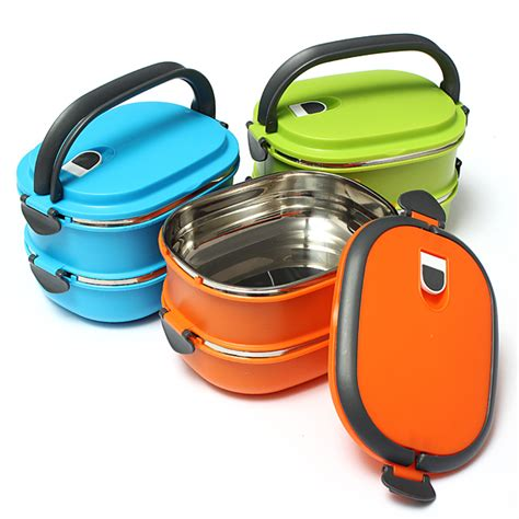 Fukorou 2 Layer Lunch Box 1 2 layer stainless steel insulated bento box lunchbox