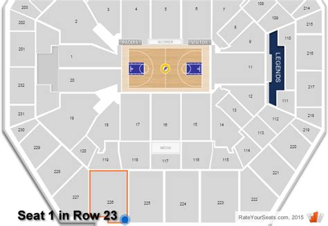 bankers fieldhouse seating chart with rows bankers fieldhouse seating chart with rows