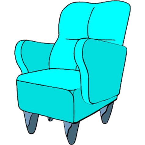 Armchair Clipart by Armchair 08 Clipart Cliparts Of Armchair 08 Free