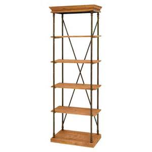 lowes wood shelving shop woodland imports 72 in h x 24 in w x 14 in d 5 tier