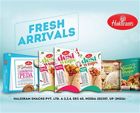 Enjoy Haldiram Delicious Snacks, Sweets, Namkeens, Frozen ...