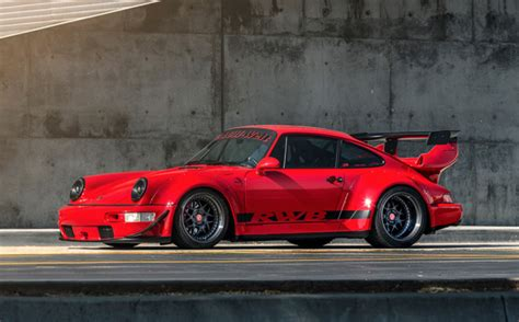 rwb porsche logo rwb 1989 porsche 911 4 coupe for sale on bat