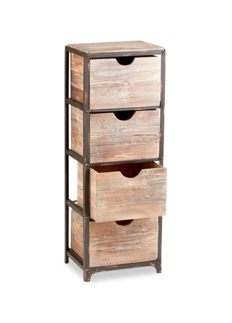 industrial storage shelves with drawers talford 4 drawer industrial iron wood tall storage shelf