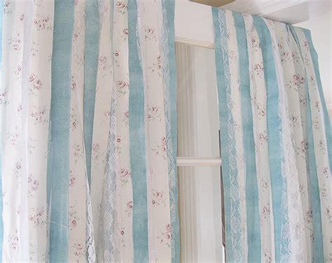 Handmade Curtains - shabby chic curtains bohemian curtains handmade