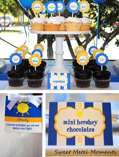 printable graduation party decorations sweet metel moments brody s preschool graduation party
