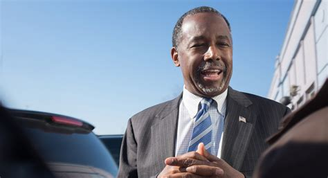 Showing Desk Login by Ben Carson Pledges To Carry On This Fight After Dismal
