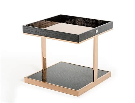 modern end tables living room a x padua modern large black rosegold end table end