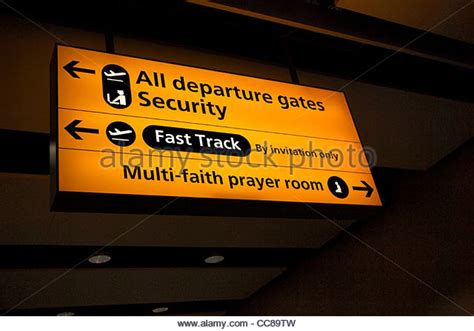gatwick prayer room gatwick airport sign stock photos gatwick airport sign stock images alamy
