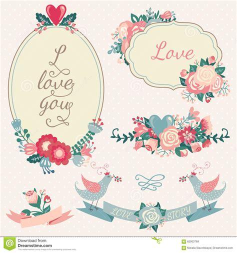 love wedding design elements vector wedding design elements stock vector image 65003768